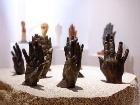 The Hands of History by Raymond Watson