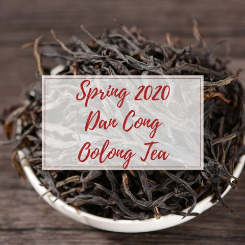 Dan Cong Oolong Tea - Spring 2020