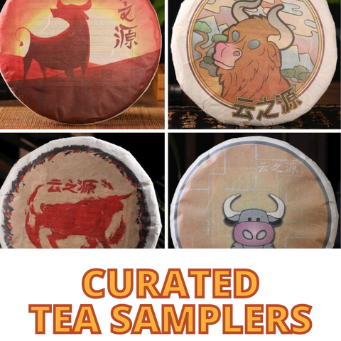Curated Tea Samplers