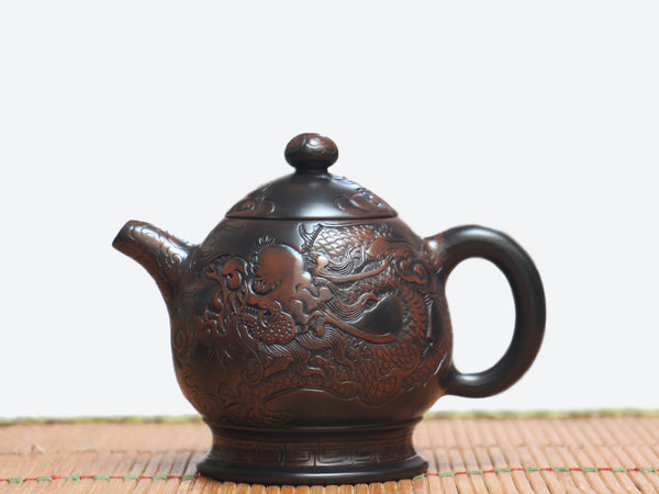 "Jian Shui Clay ""Dragon"" Teapot by Lei Xing Hua"