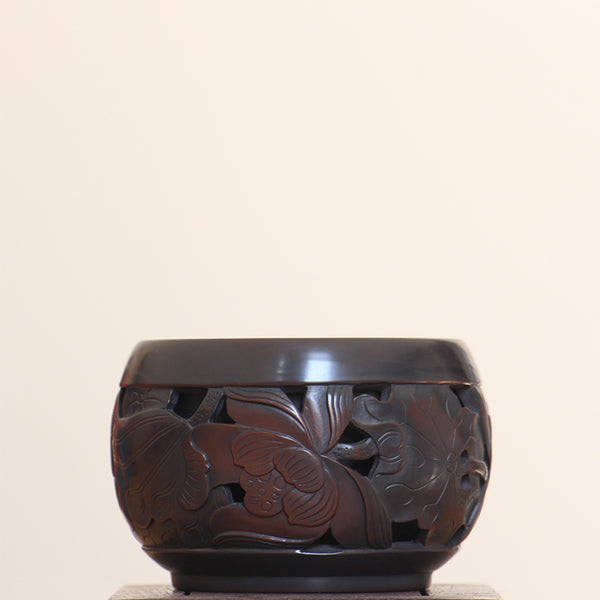 "Jian Shui Clay ""Lotus"" Cup by Huang Shou Zhen * 160ml"