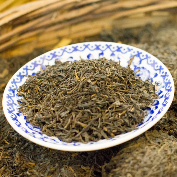 "2011 Three Cranes ""15010"" Liu Bao Tea from Guangxi"
