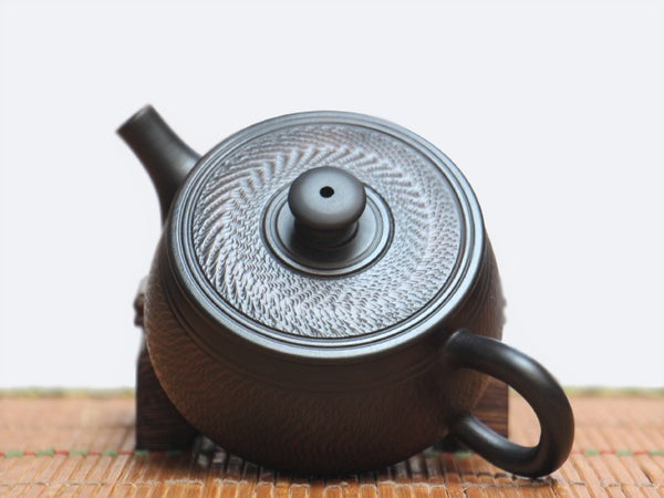 "Jian Shui Clay ""Tiao Dao 2#"" Teapot by Wang Yan Ping * 190ml"