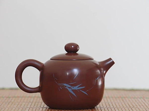 "Jian Shui Clay ""Sui Yu Er An"" Teapot by Chen Quan * 180ml"