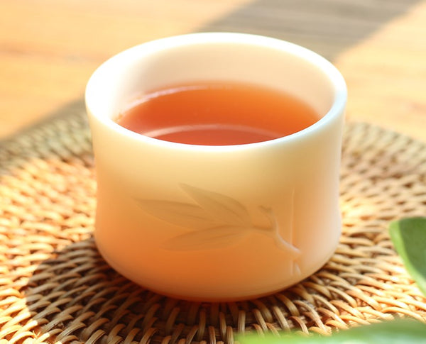 "De Hua Yu Ci Jade Porcelain ""Bamboo"" Cup for Tea"