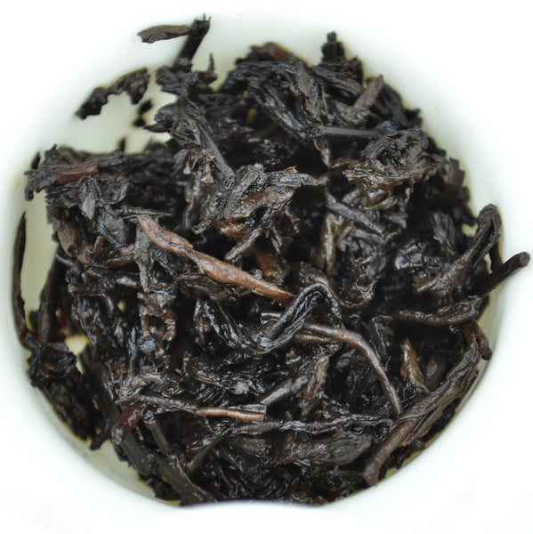 2001 Golden Flowers Liu Bao Tea from Guangxi