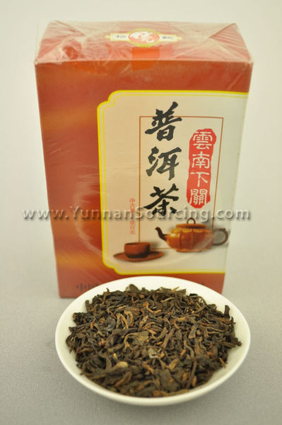"2006 Xiaguan ""Loose Ripe Pu-erh Tea"" 100 grams per box"