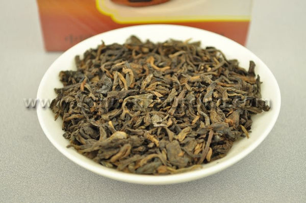 "2006 Xiaguan ""Loose Ripe Pu-erh Tea"" 100 grams per box - Yunnan Sourcing Tea Shop"