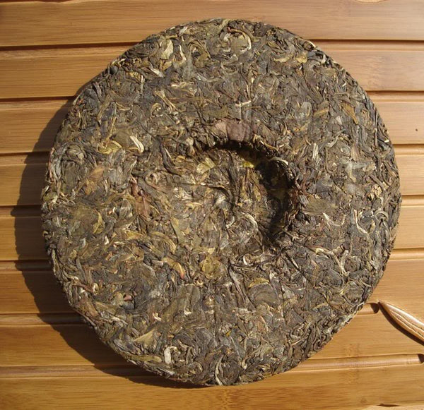 "2006 Jian Shen ""Bang Mai Mountain Wild Tree"" Pu-erh Tea Cake"