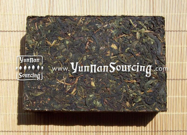 2011 Wild Tree Raw Pu-erh Tea Brick of Dehong - Yunnan Sourcing Tea Shop