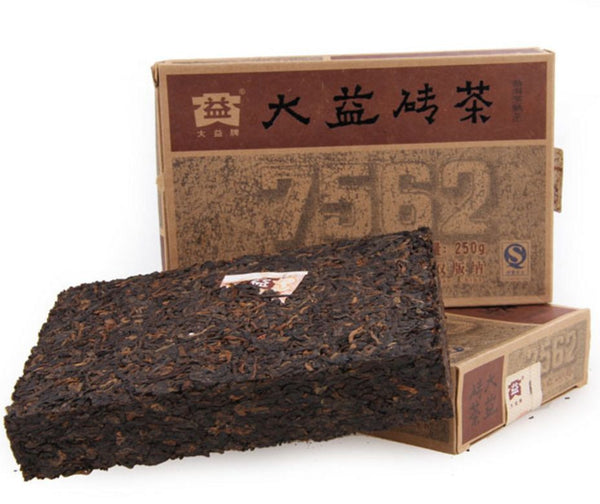 2009 Menghai 7562 Classic Ripe Pu-erh Brick Tea - Yunnan Sourcing Tea Shop