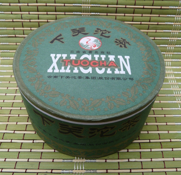 "2012 Xiaguan ""Jia Ji Tuo"" Raw Pu-erh tea in box * 100 grams"