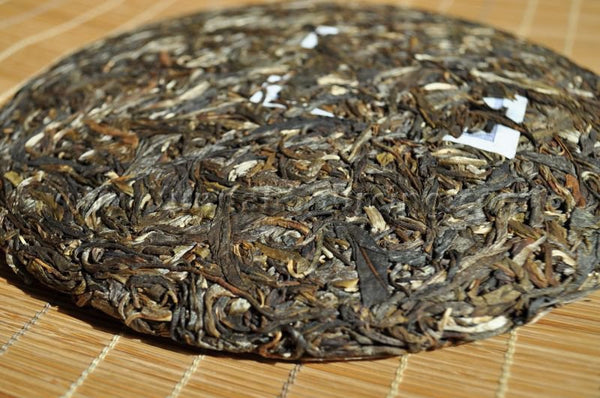 "2010 Gu Ming Xiang ""Ban Pen Gu Shu"" Raw Pu-erh Tea Cake - Yunnan Sourcing Tea Shop"