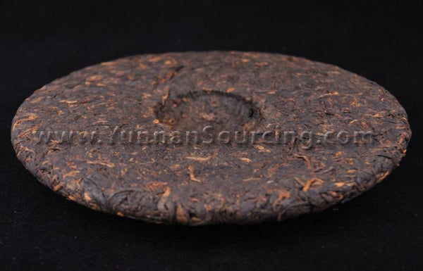 "2010 Hai Lang Hao ""As You Like"" Ripe Pu-erh Tea Cake of Menghai - Yunnan Sourcing Tea Shop"