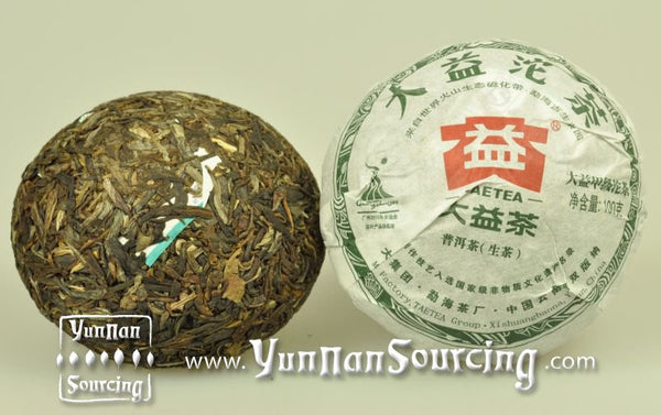 "2011 Menghai ""Da Yi Jia Ji Tuo"" Raw Pu-erh Tea - Yunnan Sourcing Tea Shop"