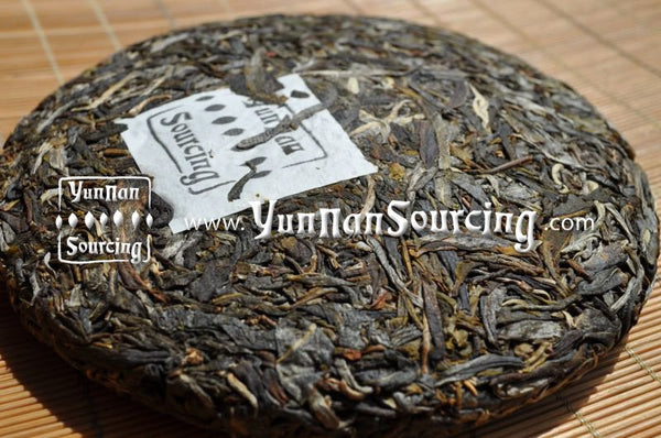 "2010 Yunnan Sourcing ""Bang Dong Village"" Raw Wild Arbor Pu-erh Tea Cake of Mengku - Yunnan Sourcing Tea Shop"