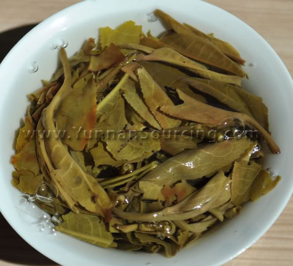 "2011 Yunnan Sourcing ""Autumn Mang Fei"" Raw Pu-erh Tea Cake"