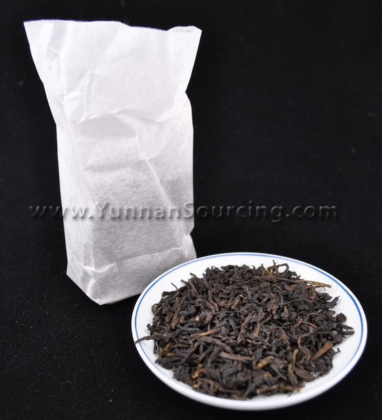 "2010 Bai Sha Xi ""Tian Jian"" Hunan Hand-Roasted Hei Cha * 50 grams - Yunnan Sourcing Tea Shop"