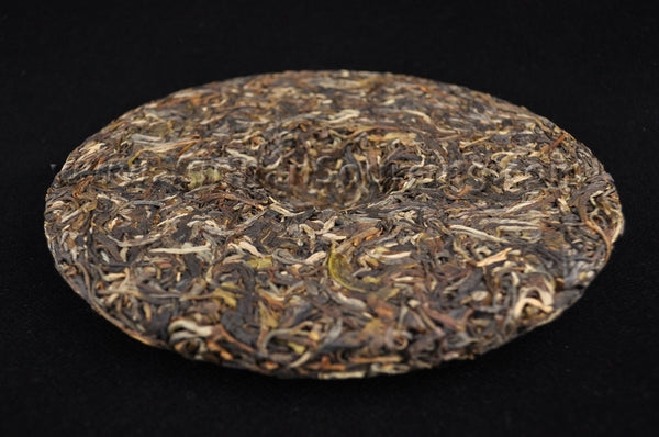 "2011 Hai Lang Hao ""Autumn Yuan Sheng Xiang"" Raw Pu-erh Tea Cake - Yunnan Sourcing Tea Shop"