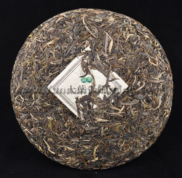 "2011 Mengku ""Da Ye Qing Bing"" Raw Pu-erh Tea Cake of Yong De - Yunnan Sourcing Tea Shop"