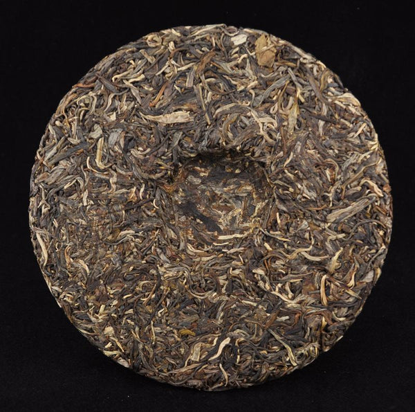 "2012 Hai Lang Hao ""16th Anniversary"" Ancient Arbor Raw Pu-erh Tea Cake - Yunnan Sourcing Tea Shop"