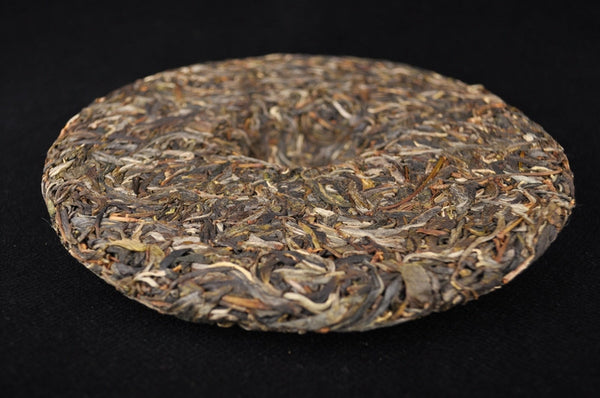 "2012 Hai Lang Hao ""Long Bing Er Hao"" Raw Pu-erh Tea Cake"