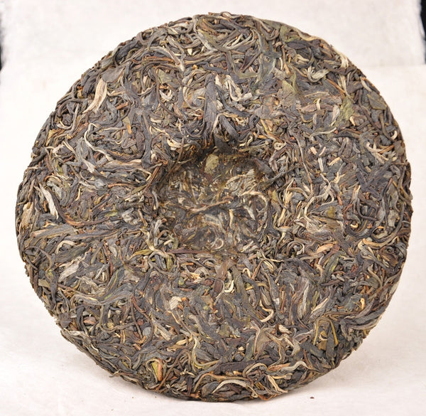 "2012 Hai Lang Hao ""Long Bing Yi Hao"" Raw Pu-erh Tea Cake - Yunnan Sourcing Tea Shop"