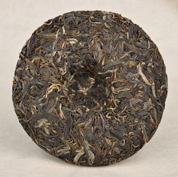 "2012 Yunnan Sourcing ""Autumn Gao Shan Zhai"" Ancient Arbor Raw Pu-erh Tea Cake"