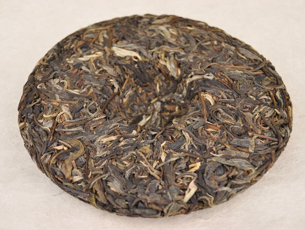"2012 Yunnan Sourcing ""Huang Shan Gu Shu"" Ancient Arbor Raw Pu-erh Tea of Yi Wu Mountain"