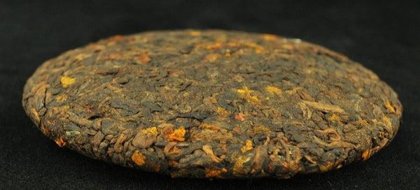 2013 Yunnan Sourcing Ripe Pu-erh and Snow Chrysanthemum Tea Mini Cake