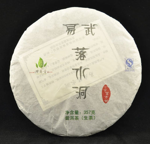 2013 Long Xin Tang Luo Shui Dong village Raw Pu-erh tea cake of Yi Wu