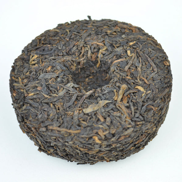 "2014 Three Cranes ""0207"" Liu Bao Tea Cake"
