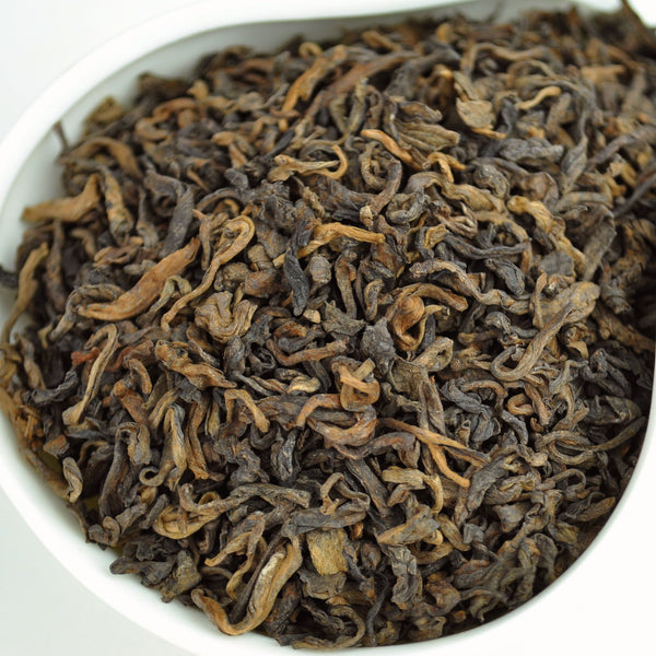 Menghai Te Ji Grade Loose Leaf Ripe Pu-erh Tea - Yunnan Sourcing Tea Shop