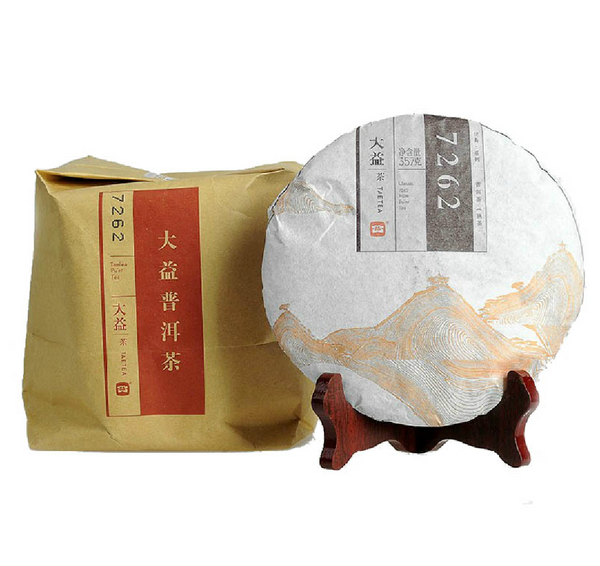2014 Menghai 7262 Recipe Ripe Pu-erh Tea Cake - Yunnan Sourcing Tea Shop