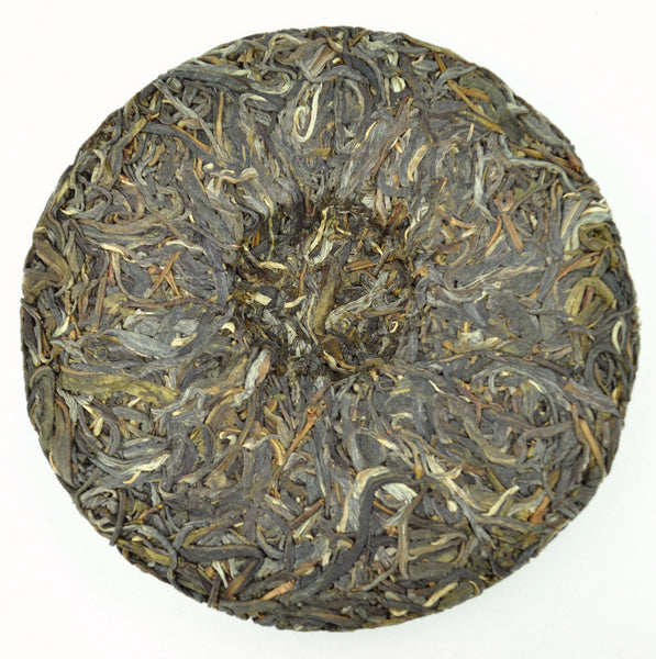 "2015 Yunnan Sourcing ""Autumn Man Zhuan"" Ancient Arbor Raw Pu-erh Tea Cake"