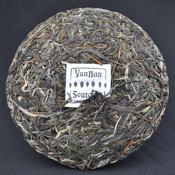 "2015 Yunnan Sourcing ""Wa Long Village"" Yi Wu Old Arbor Raw Pu-erh Tea Cake"