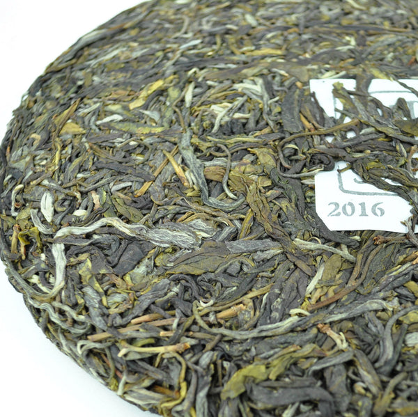 "2016 Yunnan Sourcing ""Na Han Village"" Raw Pu-erh Tea Cake"