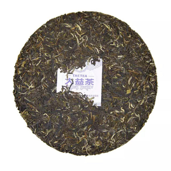 "2017 Menghai ""7542 Recipe"" Raw Pu-erh Tea Cake"