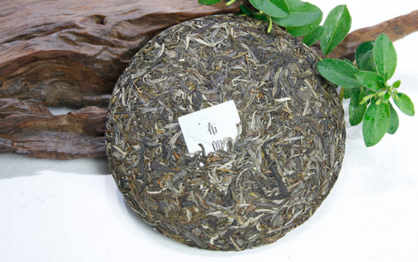 "2017 Guan Zi Zai ""Bu Lang Mountain"" Raw Pu-erh Tea Cake"