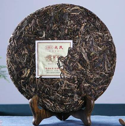 "2018 Mengku ""Wild Arbor King"" Raw Pu-erh Tea Cake"
