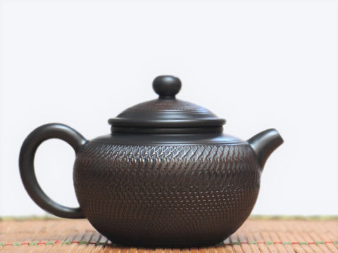 "Jian Shui Clay ""Tiao Dao 3#"" Teapot by Wang Yan Ping * 210ml"