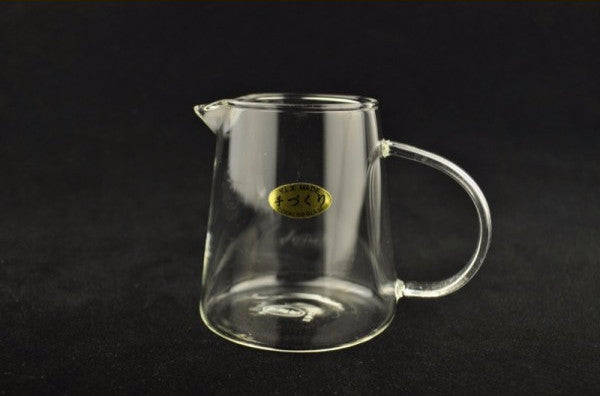 Clear Glass Gong Fu Cha Hai Serving Pitcher * 290ml