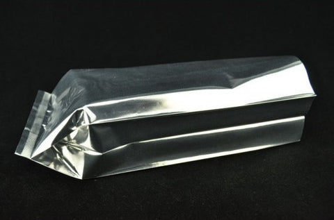Foil Pouches for Tea Storage * Heat Seal Open Mouth