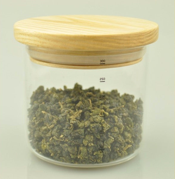 SAMA Airtight Glass Container for Storing Tea * S-101A 300ml