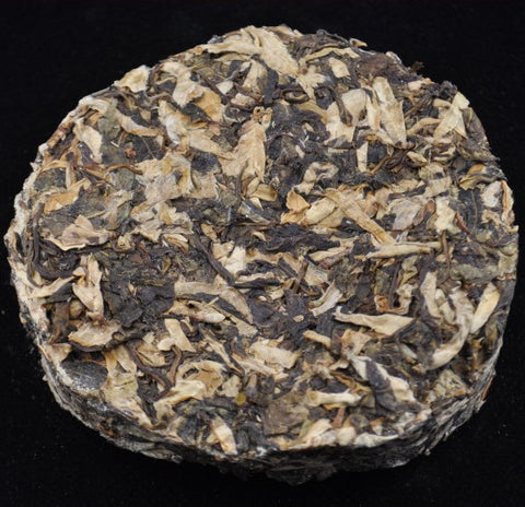 2004 Ye Sheng Cha and Sun-Dried Wild Buds Raw Pu-erh Tea
