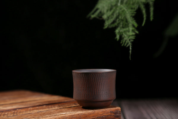 "Jian Shui Red Clay ""Stippled"" Cup"