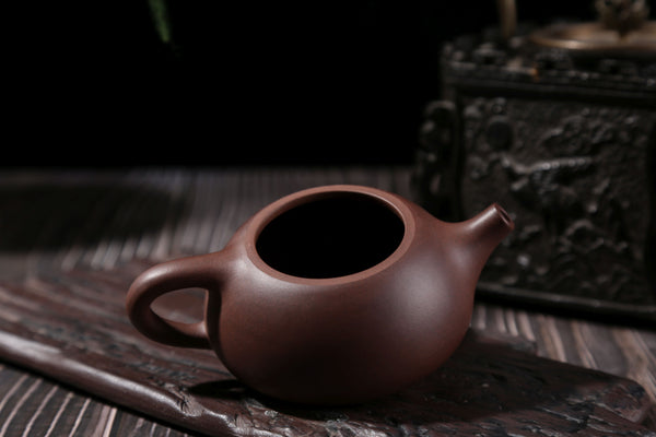 "Zi Ni Purple Clay ""Shi Piao"" Yixing Zisha Teapot by Chun Xian"