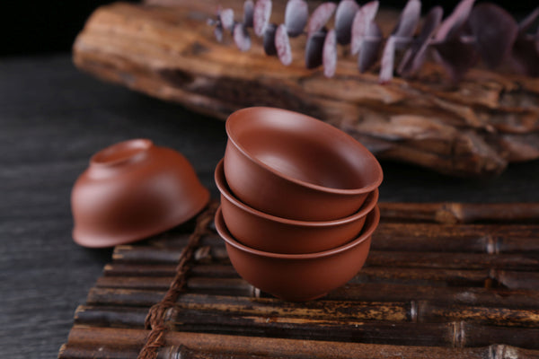 Chaozhou Red Clay Cups for Gong Fu Cha * 60ml