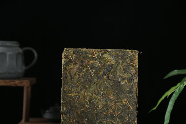 "Bang Dong ""Old Tree Huang Pian"" Raw Pu-erh Tea Brick"