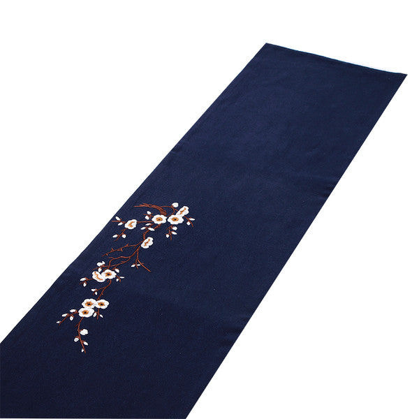"Cha Bu Gong Fu Ceremony ""Cherry Blossoms"" Tea Cloth Set"